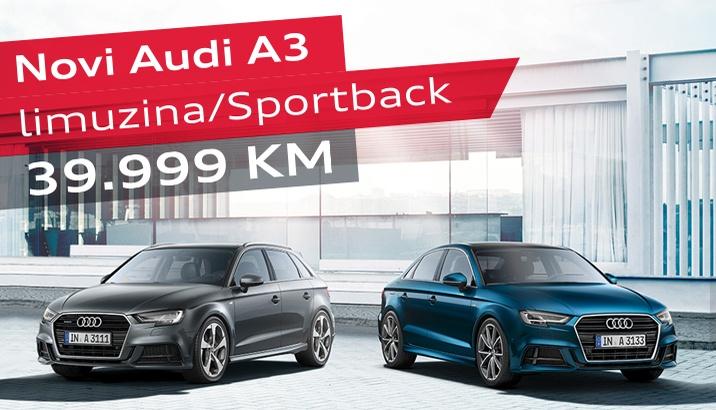 Audi A3 limuzina/Sportback