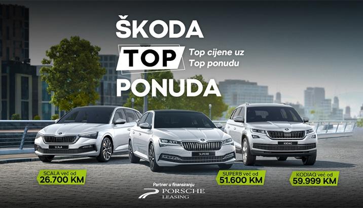 Škoda TOP PONUDA