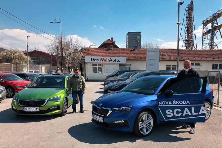 Preuzimanje vozila udruženje Pomozi.ba