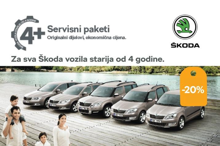 Škoda 4+