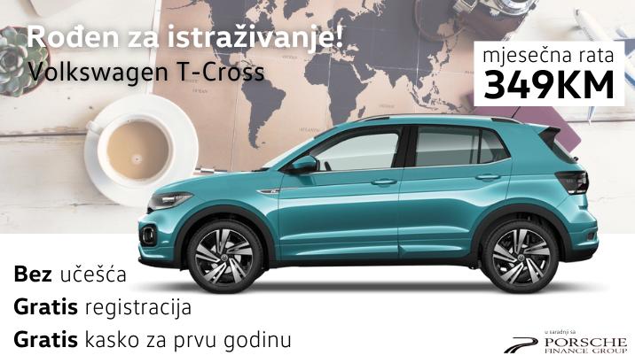 Volkswagen T-Cross 349KM mjesečno
