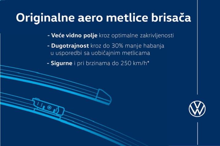 ORIGNALNE aero metlice