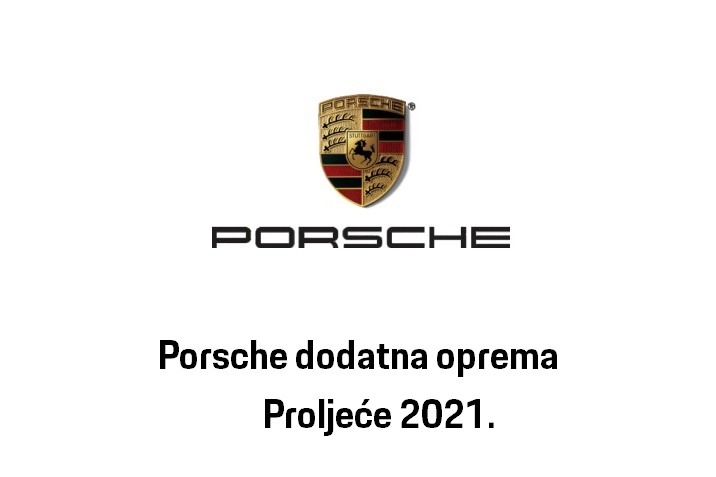 Porsche dodatna oprema