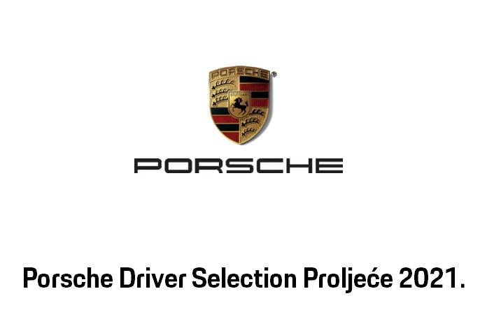 Porsche Driver Selection Proljeće 2021